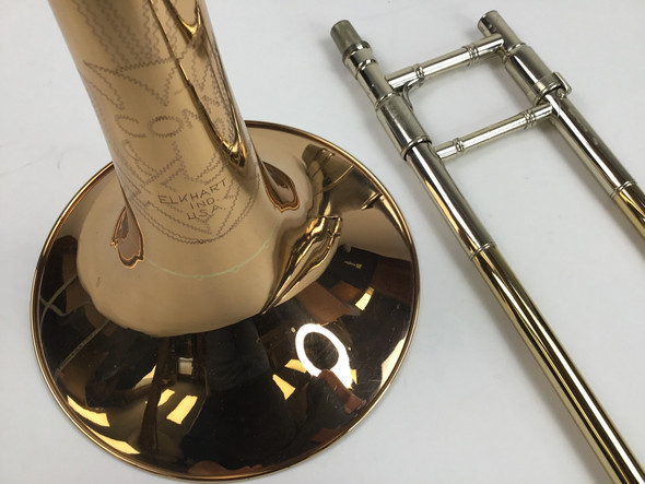 "Used Conn ""Elkhart"" 88H Bb/F Tenor Trombone (SN: N09608)"