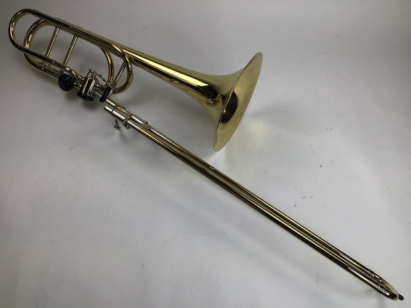 Used Bach 50K3L Bb/F/Gb/D Bass Trombone (SN: 143169)