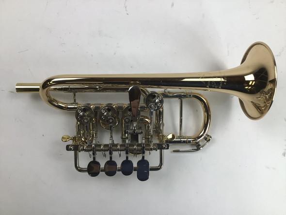 Used Scherzer 8111L Bb/A Piccolo Trumpet (SN: 459261)