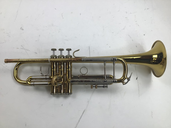 Used Bach 43 Bb Trumpet (SN: 186527)