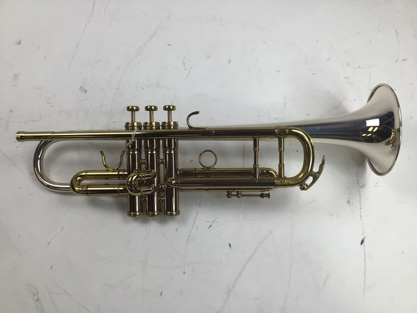 """Used King Silver Sonic """"Anniversary Model"""" Bb Trumpet (SN: 43442646)"""