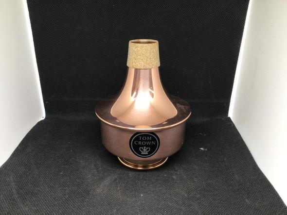 Demo Tom Crown Piccolo Trumpet Straight Mute All Copper [208]