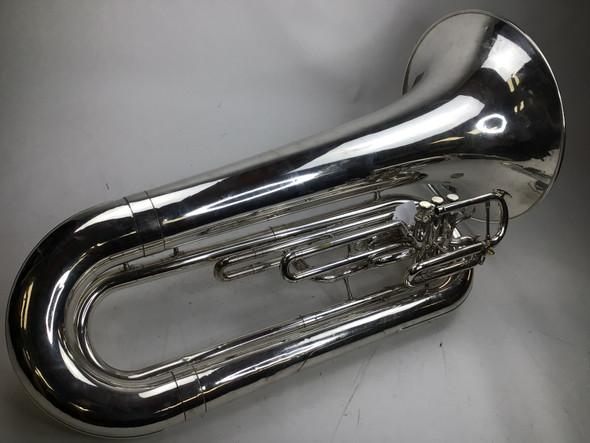 Used Yamaha YBB-202MSWC Marching Tuba (SN: 440835)