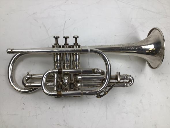 Used Keefer Bb Cornet (SN: 10543)