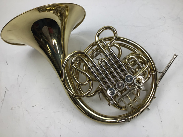 Used Besson 408 F/Bb Double Horn (SN: 226783M)