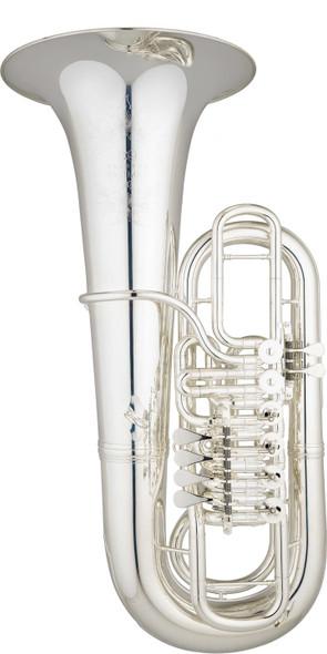 Eastman EBF866S F Tuba Silver Plate