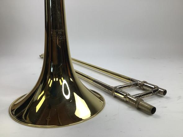 Used Bach 36BO Bb/F Tenor Trombone (SN: 191126)