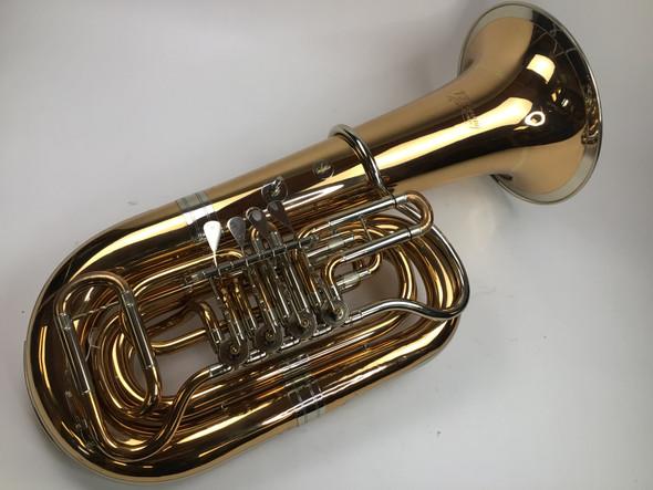 Used Cerveny CBB781-4MR BBb tuba (SN: 492062)
