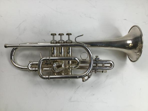 Used Bach 181 Bb Cornet (SN: 572409)