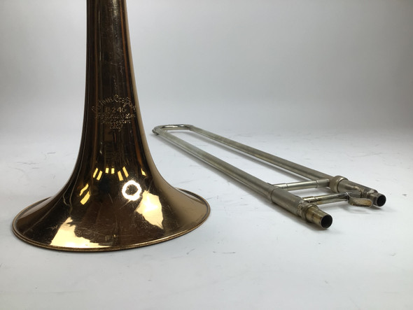 Used Olds P-24G Bb/F/G/Eb Bass Trombone (SN: 994180)