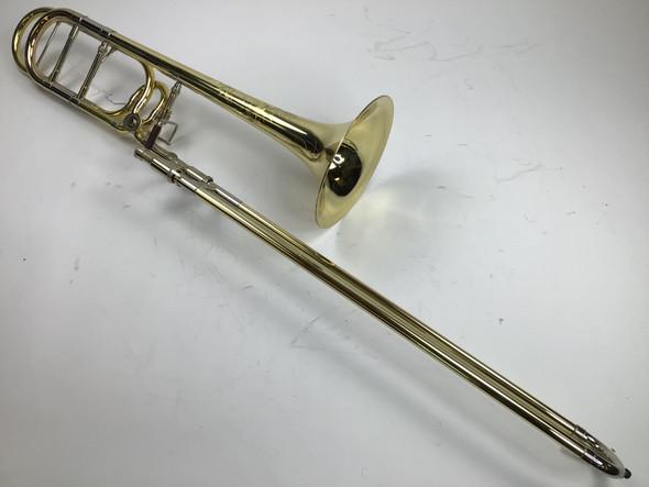 Used Shires Bb/F Tenor Trombone (SN: 10357)