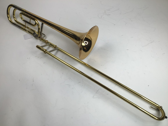 Used Yamaha YSL-356G Bb/F Tenor Trombone (SN: 922963A)