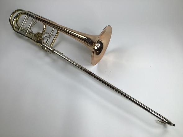 Used Shires Bb/F/D Custom Dependent Bass Trombone (SN: 2061)