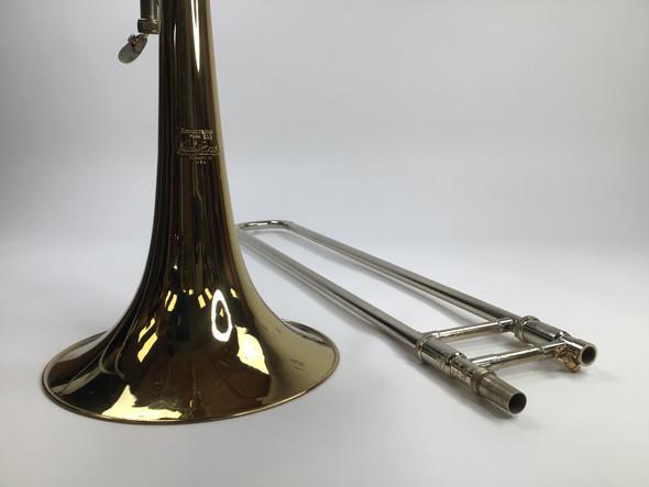 Used Bach LT50B3O Bb/F/Gb/D Bass Trombone (SN: 88720)