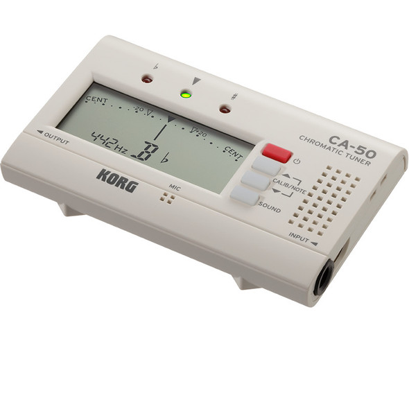 Korg Chromatic Tuner w/ Output Jack, Folding Stand CA-50