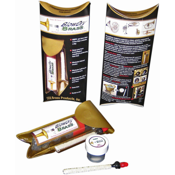 BlowDry Brass Piston & Rotary Valve Brass Maintenance System