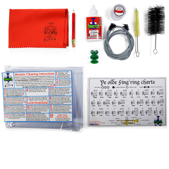 Monster Oil Trumpet Cleaning Kit