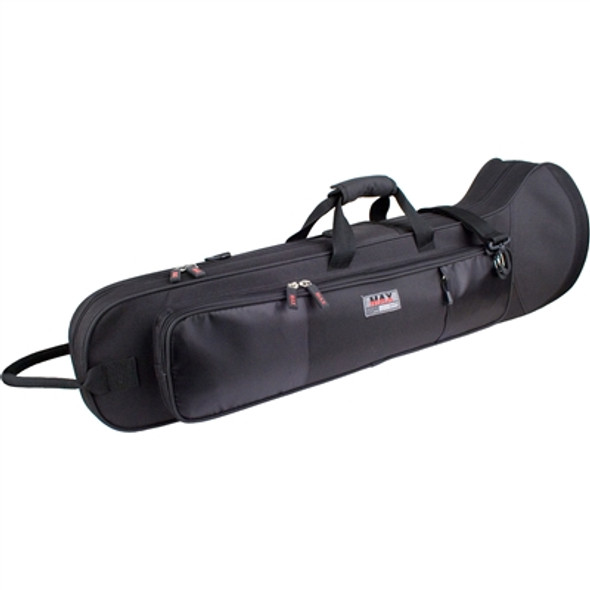 Protec Straight Tenor Trombone Max Case Black