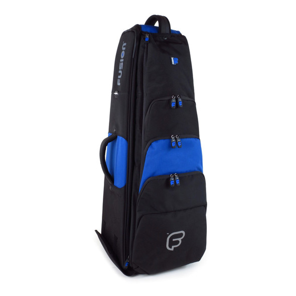 Fusion Premium Bass Trombone Case- Black/Blue