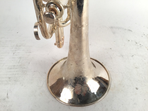 Used August Pollman Ligh Action NY Bb Cornet [323]