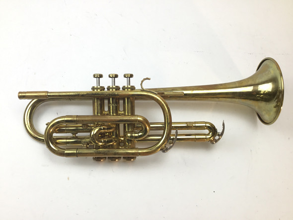 Used Beacon Boston Mass Bb Cornet (SN: 53248)