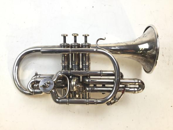 Used Besson Brevette Cornet (SN: 58195)