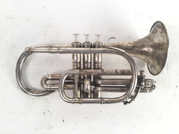 Used Besson Prototype Bb Cornet (SN: 73620)
