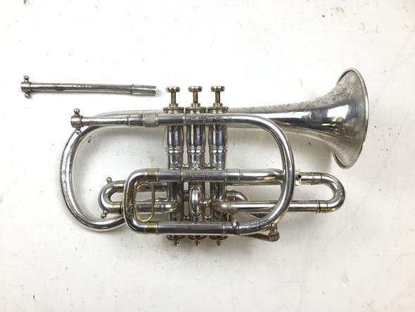 Used Henry Diston Bb/A Cornet (SN: 18541)