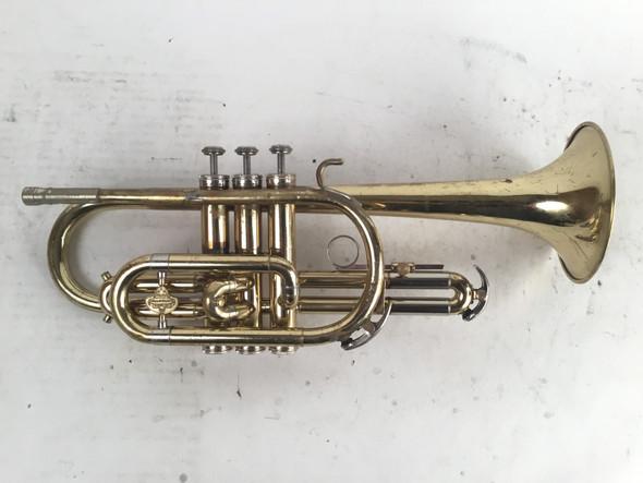 Used Holton C602 Collegiate Bb Cornet (SN: 512452)