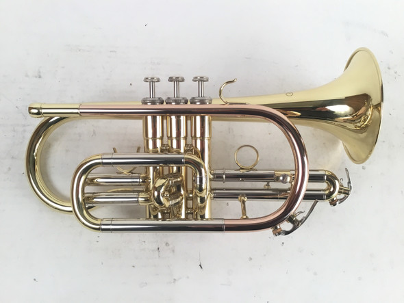 Used JZ model Bb cornet in lacquer (SN: 900333)