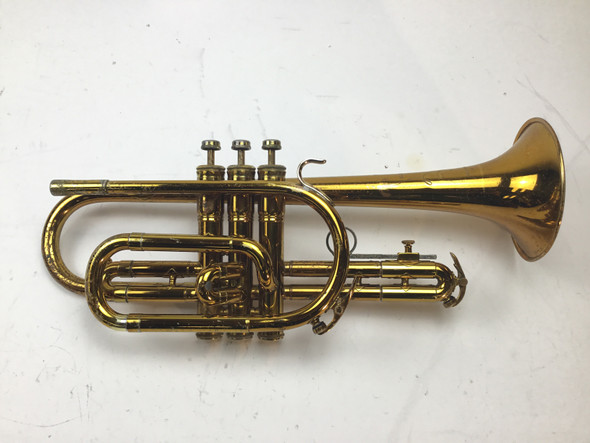 Used King Cleveland 602 Bb Cornet (SN: 253860)