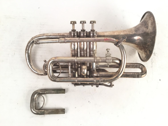 Used York Monarch Bb Cornet (SN: 7333)