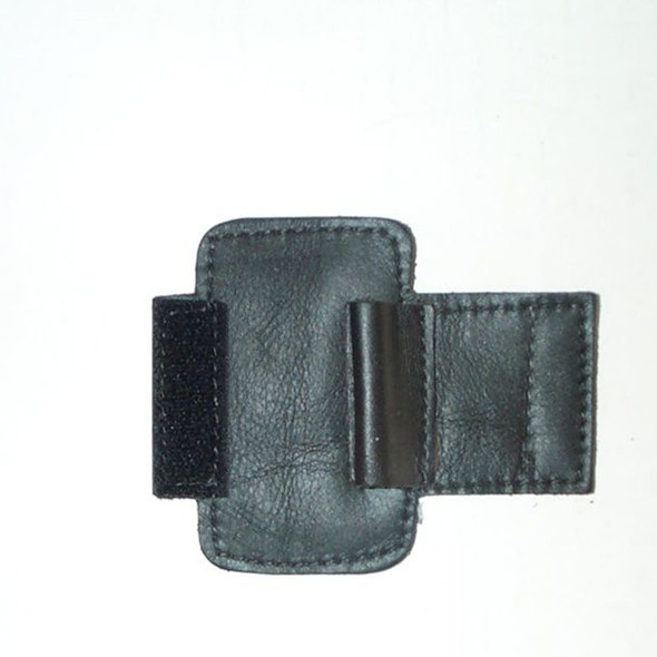Leather Specialties Rotor Valve/Neck Guard Black Leather