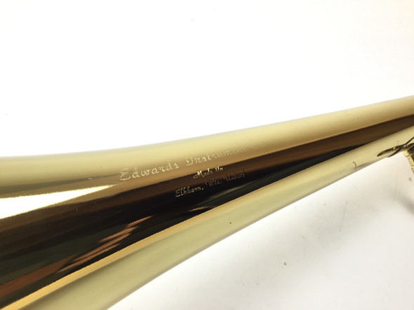 Used Edwards 1311CF Lacquered Yellow Brass Bass Trombone Bell [14945]