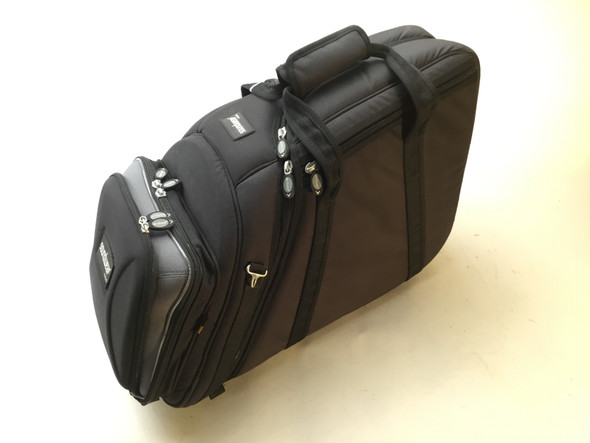 Used Soundwear Fixed Bell French Horn Professional Case Black [876]