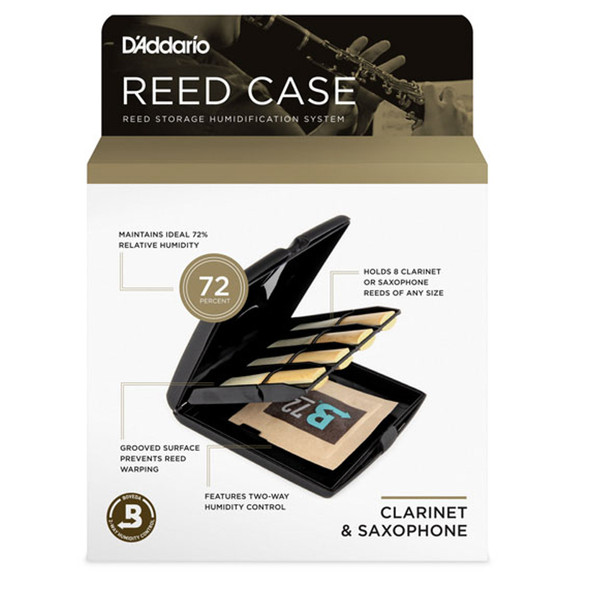 D'Addario Single Reed Storage Case