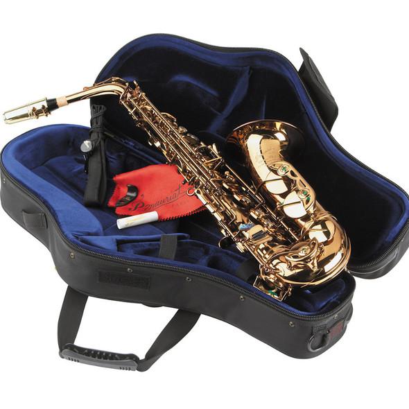 P Mauriat PMXA-67RCL Professional Alto Saxophone - Cognac Lacquer