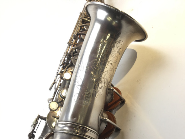 Used Holton Rudy Wiedoeft Model Alto Saxophone (SN: 37180)