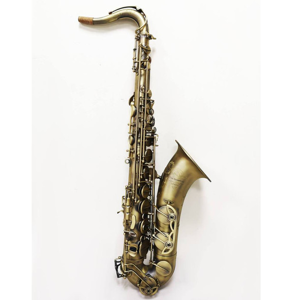 The Growling Sax Uprise Series Professional Tenor Saxophone, Satin Antique Dark