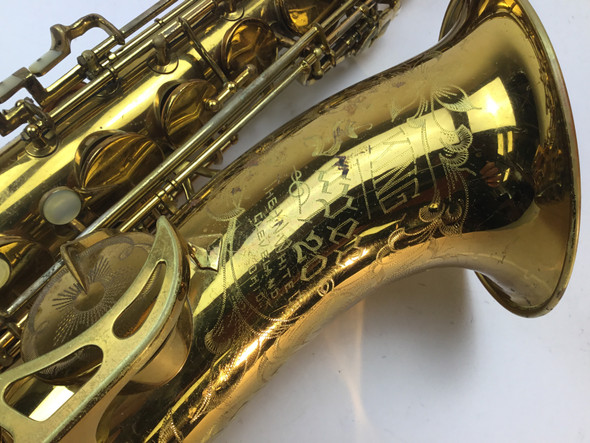 Used King Super 20 Tenor Saxophone (SN: 336453)