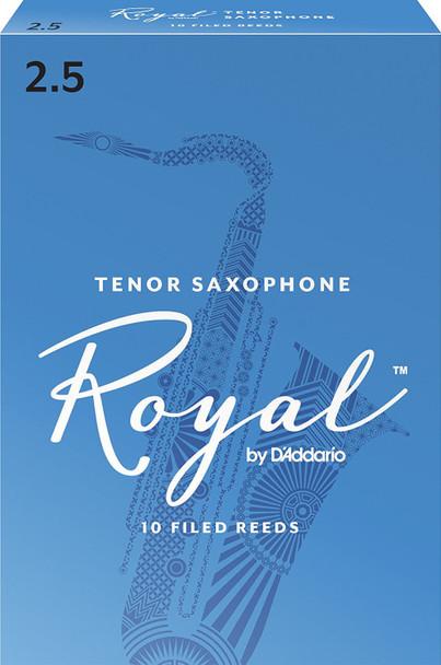 Rico Royal Tenor Saxophone Reeds Pack of 10
