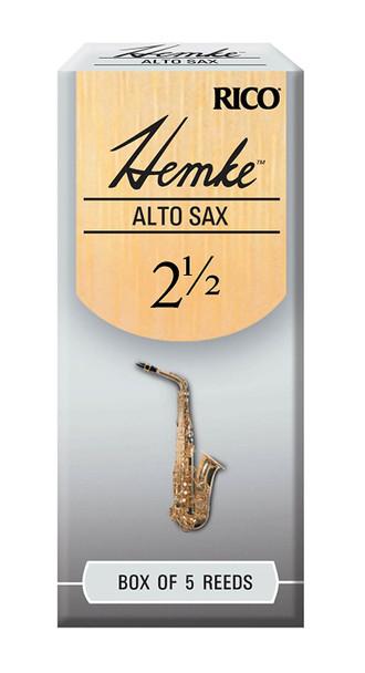 Rico Hemke Alto Saxophone Reeds, Box of 5
