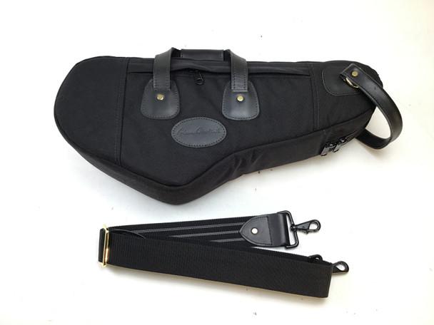 Used Cronkhite Curved Neck Soprano Sax Case, Black Cordura