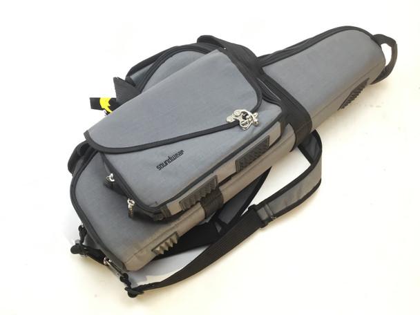Used Soundwear Performer Alto Sax case- Grey