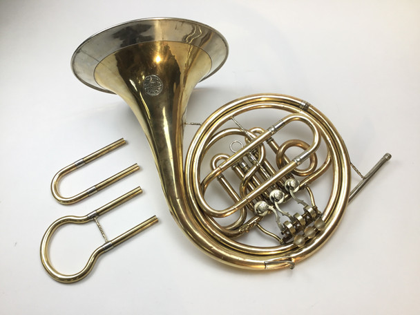 Used Alexander F/E Single French Horn (SN: 0516182)