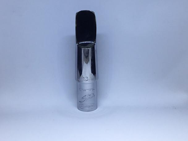 Used Runyon Quantum 13 Spoiler Metal Alto Saxophone Mouthpiece [631]