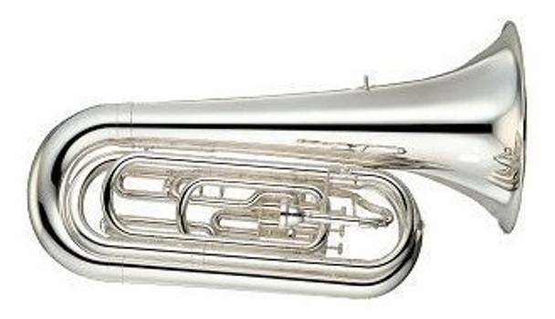 Yamaha Convertible Marching BBb Tuba /with case YBB-105MWC