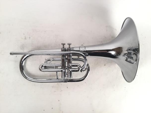 Used DEG Dynasty II 2 Valve G Mellophone (Sn: 5299)
