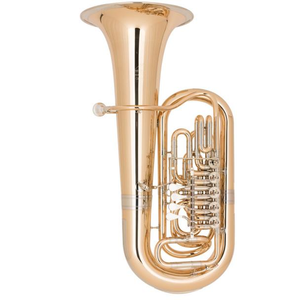 Miraphone Starlight model 383 EEb Tuba in Gold Brass