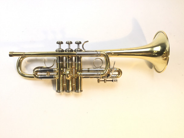 Used Bach model 304 Eb ONLY Trumpet (SN: 46256)